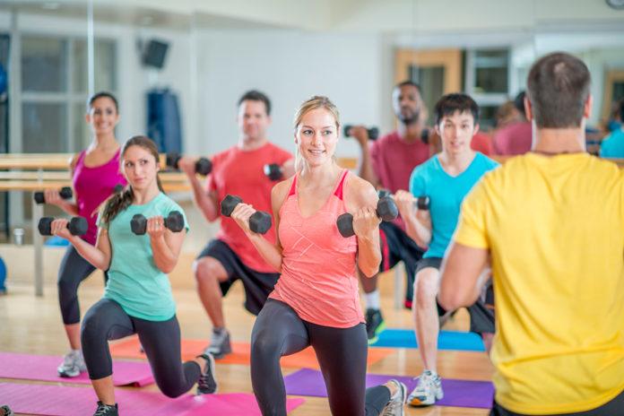 csoportos fitness